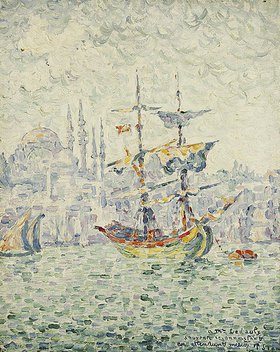 Paul Signac: Der Hafen in Konstantinopel