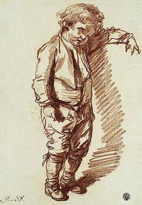 Jean Baptiste Greuze: Ein kleiner Junge, stehend