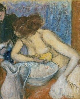 Edgar Degas: La Toilette