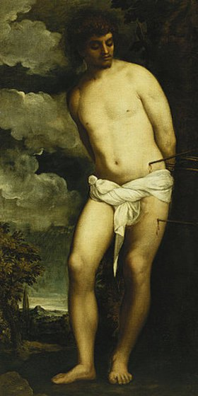 Tizian (Tiziano Vecellio): Der Heilige Sebastian