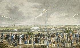 Heinrich Adam: Pferderennen und Oktoberfest auf der Theresienwiese