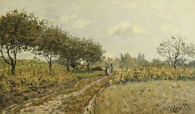 Alfred Sisley: Feldweg auf dem Land (Le Chemin dans la Campagne)