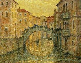 Henri Le Sidaner: Die Morgensonne in Venedig (Le Matin, Soleil, Venise)