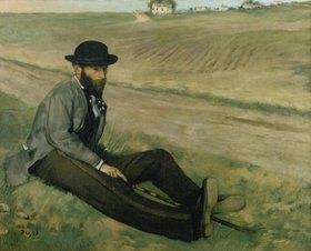 Edgar Degas: Bildnis Eugène Manet