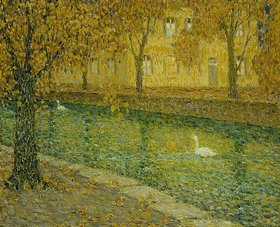 Henri Le Sidaner: Le Canal, Annecy