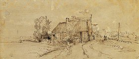 Rembrandt van Rijn: Eine Gaststätte am Straßenrand