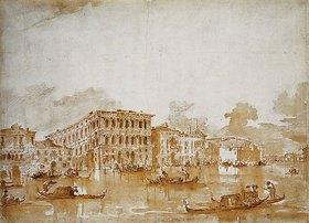 Francesco Guardi: Der Canal Grande mit der Ca' Pesaro