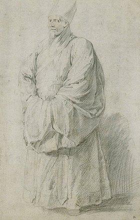 Peter Paul Rubens: Ein Jesuitenmissionar in chinesischem Kostüm (Nicolas Trigault?)