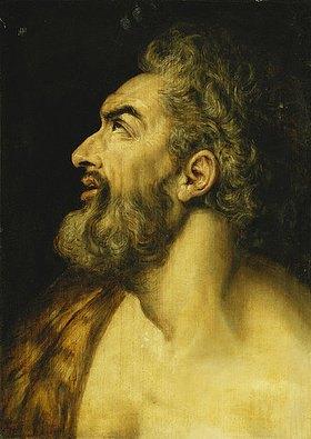 Frans Floris de Vriendt: Haupt Johannes des Täufers