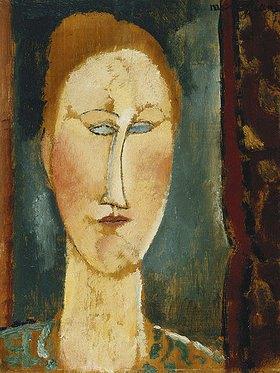 Amadeo Modigliani: Kopf einer Rothaarigen (Tête de Femme aux Cheveux Rouges)
