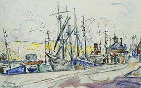 Paul Signac: Der Hafen von Fecamp