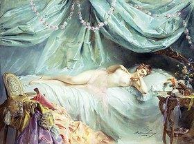 Madeleine Lemaire: Dame in ihrem Schlafzimmer