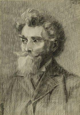 Egon Schiele: Portrait eines Mannes