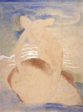 Bernhard Hoetger: Nymphe auf Delphin