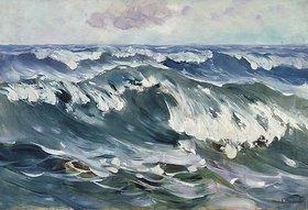 Karl Hagemeister: Die Welle (Meeresbrandung)