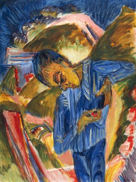 Ernst Ludwig Kirchner: Bube mit Bonbons