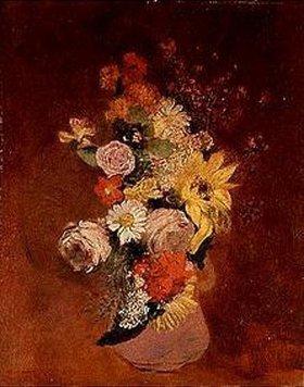 Odilon Redon: Blumenstilleben in einem Krug