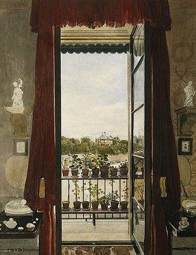 Samuel Dukinfield Swarbreck: Blick auf das Prince Albert's Swiss Cottage