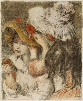 Auguste Renoir: Die Hutnadel