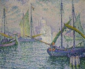 Paul Signac: Venedig mit Segelbooten (Le Redempteur)