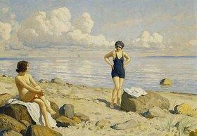 Paul Fischer: Strandtag