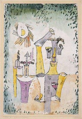 Paul Klee: Schwarzmagier