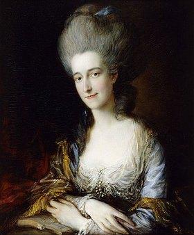 Thomas Gainsborough: Porträt von Lady Dorothea Eden