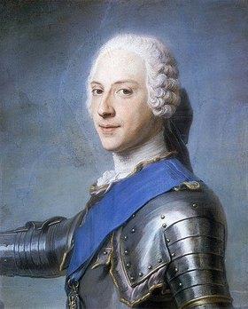 Maurice Quentin de La Tour: Portrait von Prinz Charles Edward Stuart
