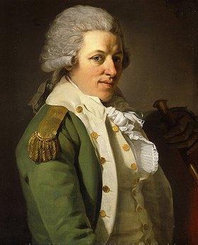 Joseph Ducreux: Selbstbildnis in einer grünen Jacke