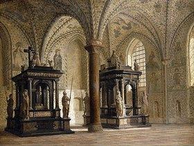 Heinrich Hansen: Im Dom von Roskilde, Dänemark