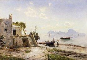 Peder Moensted: Blick von Sorrent nach Capri