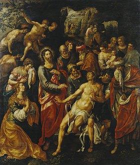Hendrick de Clerck: Die Auferweckung des Lazarus