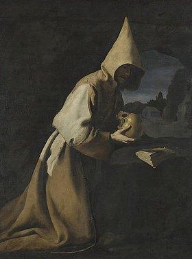 Francisco Zurbaran y Salazar: Der hl. Franziscus von Assisi