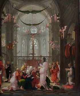 Süddeutsch: Der Tod Mariens.  Erste Hälfte des 16. Jahrhunderts