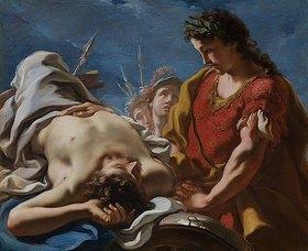 Giovanni Antonio Pellegrini: Alexander an der Leiche des Darius