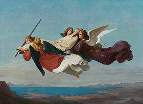 Heinrich Mücke: Übertragung des Leichnams der heiligen Katharina zum Berge Sinai