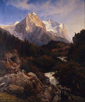 Johann Wilhelm Schirmer: Das Wetterhorn