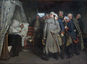 Arthur Kampf: Rede Friedrichs des Großen an seine Generäle auf dem Krankenbett zu Köben an der Oder