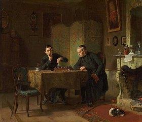 Benjamin Vautier: Beim Schachspiel