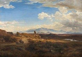 Eduard Wilhelm Pose: Campagna-Landschaft bei Torre del Quinto