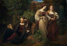 Carl Ferdinand Sohn: Tasso und die beiden Leonoren