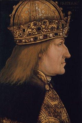 Hans Burgkmair d.Ä.: Kaiser Friedrich III.(1415-1493) nach Vorbild von