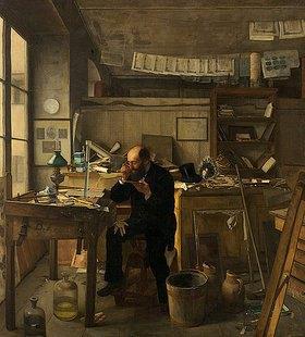Ernst te Peerdt: Ein Heliograph in seinem Atelier (Der Banknotenfälscher)