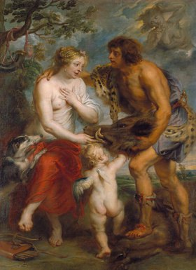 Peter Paul Rubens: Meleager und Atalante