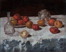 Carl Schuch: Stillleben mit Äpfeln