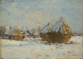 Helmuth Liesegang: Winterlandschaft