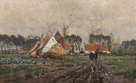 Eugen Kampf: Flandrische Landschaft