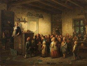 Johann Peter Hasenclever: Jobs als Schulmeister