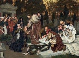 Eduard (Karl Franz) von Gebhardt: Die Auferweckung des Lazarus