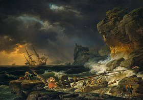 Claude Joseph Vernet: Gewittersturm